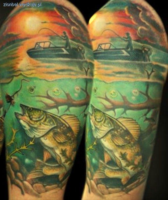 Ryby w tatua¿u - zdjêcia, foto galerie, fotki, zdjêcie