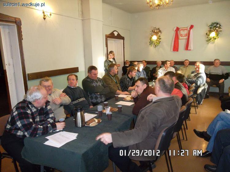 Walne Zgromadzenie Cz�onk�w Ko�a PZW Nr 1 w Sul�cinie - PZW, regulamin w�dkarstwo, zdj�cia, opinie