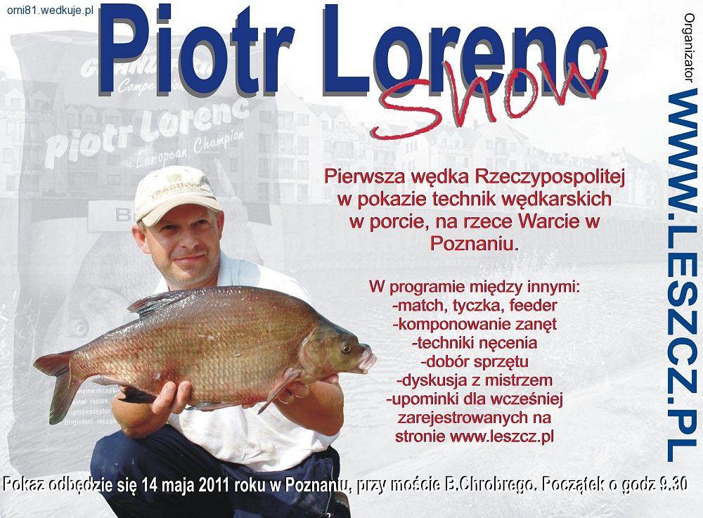 Prezentacja Piotra Lorenca w Poznaniu | sprz�t, akcesoria w�dkarskie, zdj�cia, opinie
