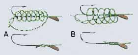 Wi�zanie haczyk�w jak zawi�za� haczyk na ryby  | �y�ki haczyki, zdj�cia, opinie