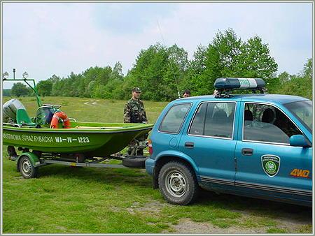 Wszystko o Pa�stwowej Stra�y Rybackiej  oraz  Spo�ecznej Stra�y Rybackiej - na rybach, zdj�cia, opinie