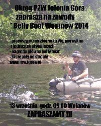 Zawody w�dkarskie Belly Boat Wojan�w 2014