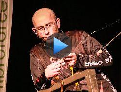Pawe� GARBUS Ko�odziejczyk Savage Gear pokaz przyn�t spinningowych targi w Poznaniu
