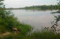 Rodzinno - s�siedzka wyprawa na ryby