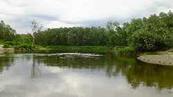 Wspomnienie wielkiej rzeki...