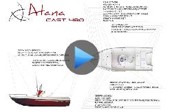 �odzie w�dkarskie firmy Atana - Rybomania 2014