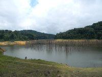 Sztuczne jezioro Tchimbele