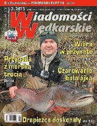"""Ukaza� si� lutowy (2/2015) numer """"Wiadomo�ci W�dkarskich"""""""