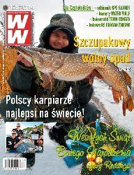 Ukaza� si� grudniowy 12/2014 numer Wiadomo�ci W�dkarskich