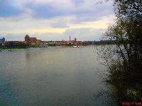 Rzeka Wis�a Toru�