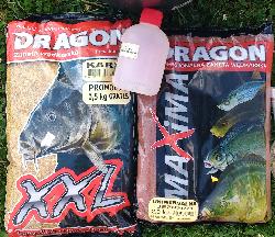 Letnie karpie z zan�tami firmy Dragon