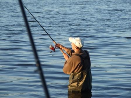 Zan�ty na ryby - w�a�ciwy dob�r zan�ty na bia�e ryby - na rybach, zdj�cia, opinie