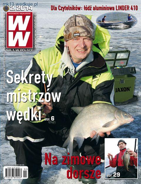 Ukaza�y si� nowe 2/2014 Wiadomo�ci W�dkarskie - gazety, media w�dkarskie, zdj�cia, opinie