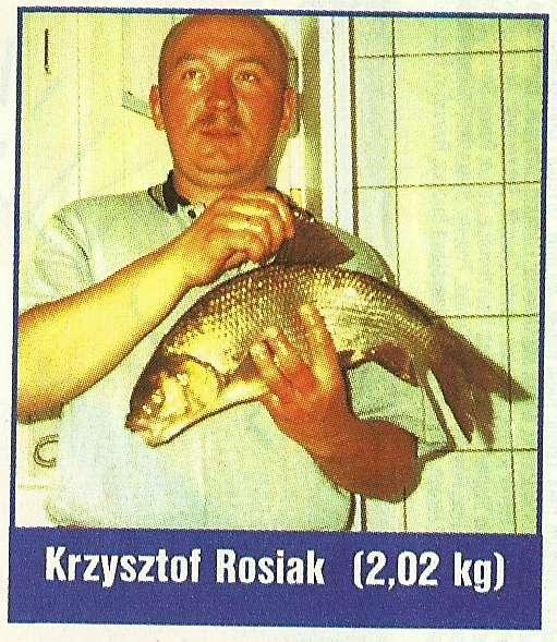 Br�zowy medal Prezesa Krzysztofa  Rosiaka Ja� z�owiony na groch porzony.